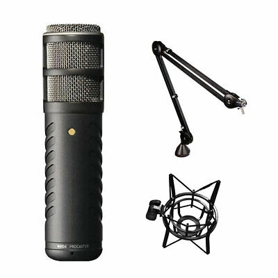 Rode Procaster Broadcast Dynamic Microphone W/ PSA1 Boom Arm & PSM1 Shockmount • 250.19£