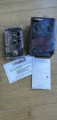 DigiTech FreqOut Natural Feedback Creator Guitar Effects Pedal, Mint In Box • 125£