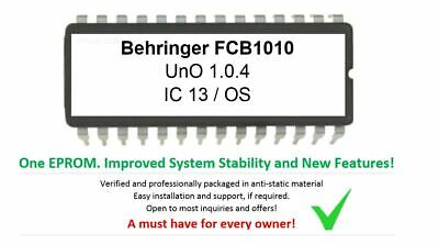 Behringer FCB1010 Firmware Custom Upgrade: Uno 1.0.4 - Must Have For • 5.72£