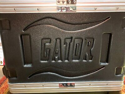 Gator 3 Space Hard Shell Rack Case (GR-3S) ~ USED EXCELLENT CONDITION • 78.32£