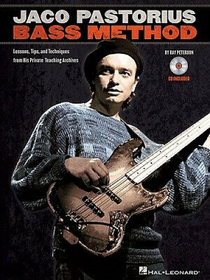 Jaco Pastorius Bass Method: Lessons, Tips, And Techniques From His Private • 14.13£