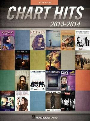 Chart Hits Of 2013-2014: Easy Piano Songbook (PVG) • 25.74£