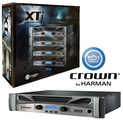 Crown XTi 2002 2-Channel Power Amplifier DSP XTi Series Global Power 100-240V • 565.59£