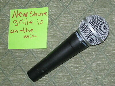 Lightly Used Genuine Shure SM58 Microphone With Brand New Shure Grille On Mic • 54.72£