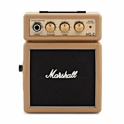 Marshall MS-2 Micro Amp in Limited Edition Gold