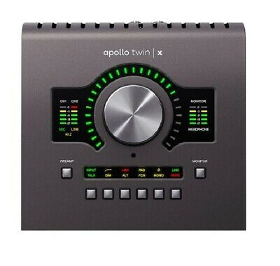 Universal Audio Apollo Twin X DUO Heritage Edition 10x6 Thunderbolt 3 Interface • 745.08£