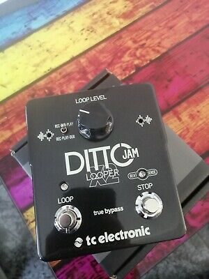 Tc Electronic Ditto Jam X2 - True Bypass Looper • 110£