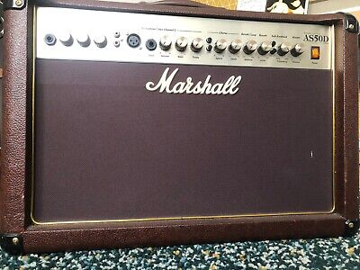 Marshall AS50D Acoustic Guitar Amplifier • 150£