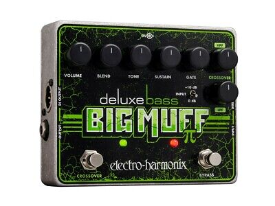 EHX Electro Harmonix DELUXE BASS BIG MUFF PI effects pedal, Brand NEW