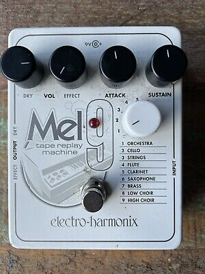 EHX Electro Harmonix Mel 9 Tape Replay Machine Guitar Effects Pedal / Stomp Box • 140£