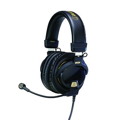 Audio-Technica ATH-PG1 Wired Gaming Headphones - Black W/ Gold Trim • 33£