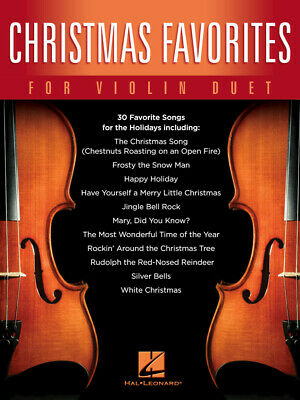 Christmas Favorites for Violin Duet  Violin Duet  Book [Softcover]