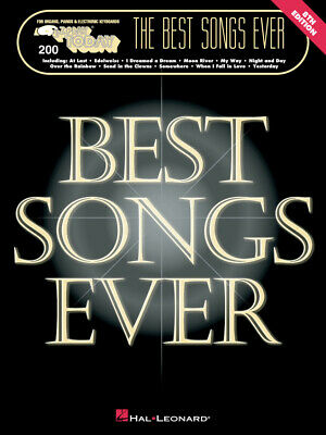 The Best Songs Ever - 8th Edition  Piano, Organ or Keyboard  Book [Softcover]