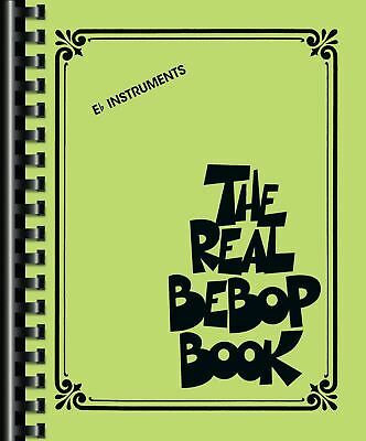 The Real Bebop Book  Eb Instruments  Book [Softcover]