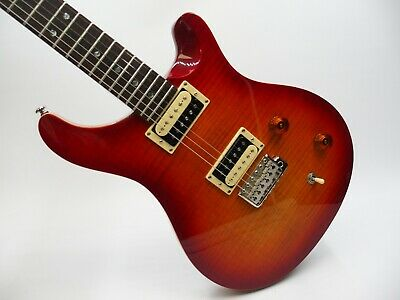 PRS Paul Reed Smith SE Electric Guitar With Bag - Cherry Flame • 599.99£