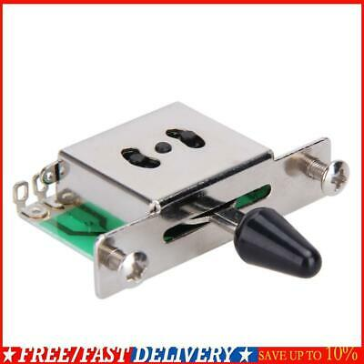 5-Way Pickup Selector Switch Toggle Leaver Switches For Fender Tele Strat Guitar • 2.52£
