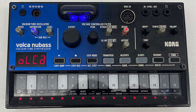 Korg Volca Nubass Oscillating Vacuum Tube Compact Synthesiser | FAST SHIPPING • 104.95£
