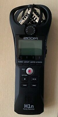 Zoom H1n Handy Digital Recorder With Accessory Pack • 125£