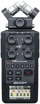 Zoom H6 All Black (2020 Version) 6-Track Portable Recorder, Stereo Microphones,  • 226.31£