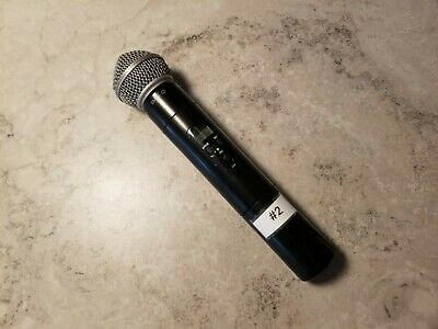 Shure SM58 Wireless Cardioid Dynamic Vocal Microphone Black Uses A 9 V Battery  • 52.09£