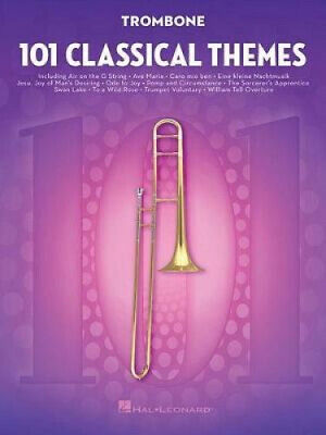 101 Classical Themes For Trombone By Hal Leonard Corp • 14.81£
