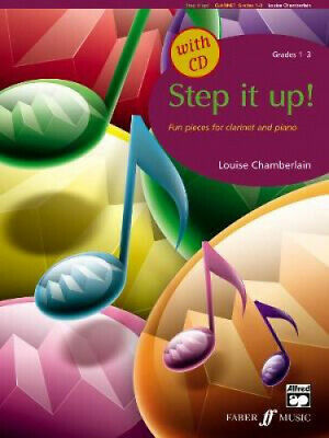 Alfred Publishing 00-0571521789 Step It Up Clarinet 1-3 - Music Book