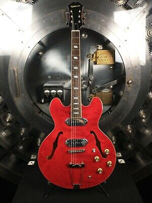 Epiphone Casino CH Cherry Dual P90 Hollow Body Electric (Non Coupe) • 396.56£