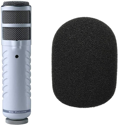 RØDE Podcaster Dynamic Large-Diaphragm Microphone with USB Connection forMac&PC