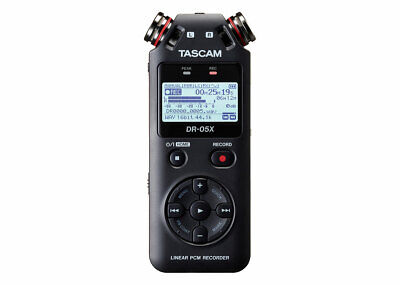 Tascam DR-05X 2-Input / 2-Track Portable Audio Recorder with Onboard Stereo Mic
