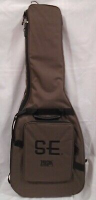 PRS SE Padded Gig Bag For Electric Guitar Brown Paul Reed Smith Guitars