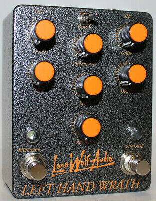 Lone Wolf Audio Left Hand Wrath V3 - Death metal perfection Pedal, Brand New