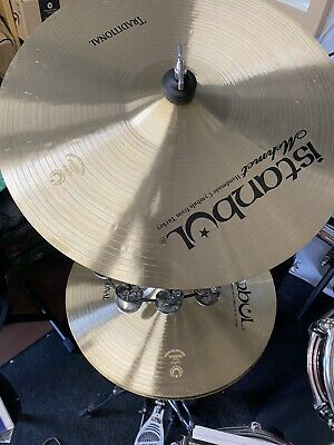 """Istanbul Mehmet Traditional Cymbals Set 14""""HH 16"""" 17"""" 18"""" Crashes 20"""" Ride"""