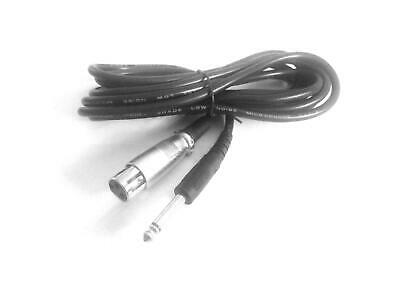 3m 6.5mm To Xlr Microphone Mic Cable Lead For Akg C414 Xls Condenser Microphone