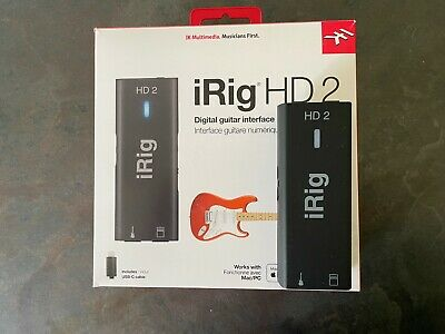 iRig HD 2 - Interface for Guitar 96 kHz with 24-bit A/D