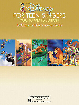 Disney for Teen Singers - Young Men's Edition Classic and Contemporary Songs Esp