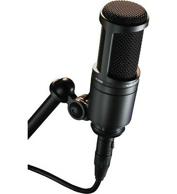 Audio Technica AT-2020 Cardioid Condenser Microphone For Studio - AT2020 XLR • 98£