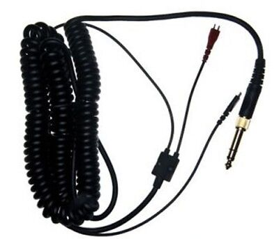 Sennheiser HD25 C II Coiled Cable - 3.0m Straight Jack & Adapter HD 25 523877 • 49.98£