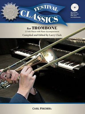 Festival Classics For Trombone Learn To Play Classical Themes Music Book & CD • 14.94£