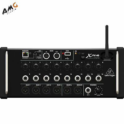 Behringer X Air XR16 16-Input Digital Mixer For IPad/Android Tablets With Wi-Fi • 385.78£