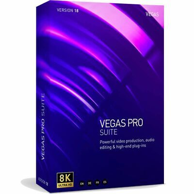 Magix Vegas Pro 15 Suite Video, Effects, DVD Authoring Academic *Download* Sony • 273.16£