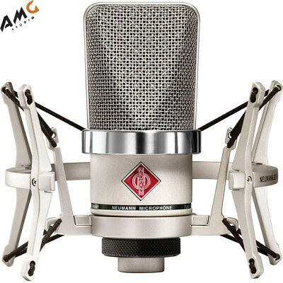 Neumann TLM-102 Large-Diaphragm Studio Condenser Microphone (Studio Set, Nickel) • 593.04£