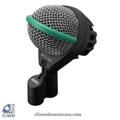 AKG D112 MkII Professional Dynamic Bass Guitar Kick Drum Studio Stage Microphone • 145.54£