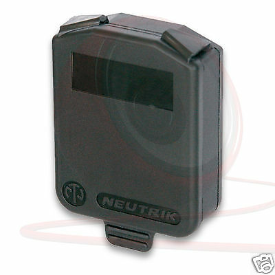 Neutrik Chassis Sealing Cover. D-Type Panel Mount. Splash and dust proof