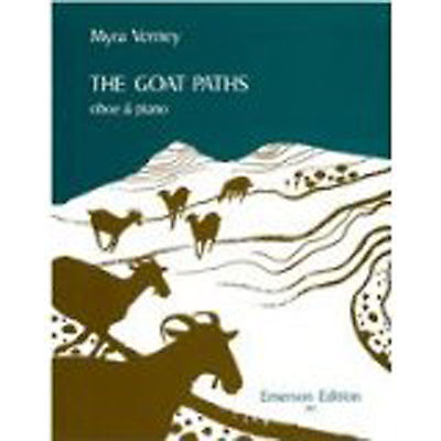 The Goat Paths Oboe Piano Sheet Music Book Advanced Repertoire Myra Verney S100