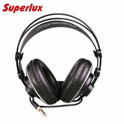 Superlux HD681B Headphones Wired Over Ear Semi Open Dynamic Studio Earphones • 30.80£