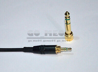 New DJ Headphone Cable Cord Line With PLUG For Repairing Headset Sony Pioneer Uk • 10.90£