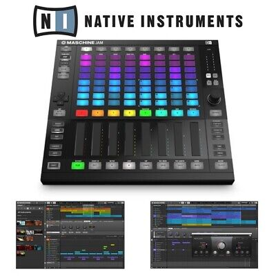 Native Instruments Maschine Jam Production Controller With Komplete 12 Software • 239£