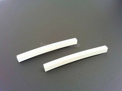 True Custom Shop® 2 Curved Blank Synth Nuts for Fender Tele and Stratocaster