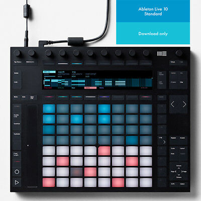 Ableton Push 2 & Live 10 Standard (Download) • 735£
