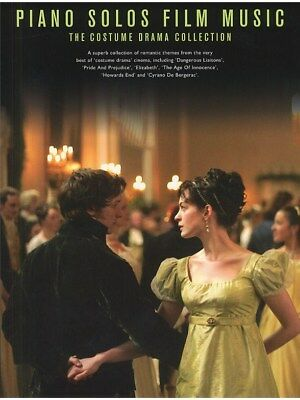 The Costume Drama Collection Dangerous Liaisons Elizabeth Piano Solos MUSIC BOOK • 14.90£